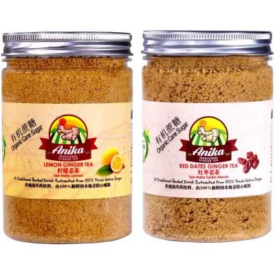 Anika Lemon and Red Dates Ginger Tea [Organic Cane Sugar]