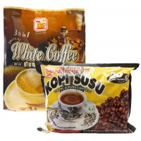 Bee Coffee Combo 1 [1 pack Milk Coffee + 1 pack  White Coffee]