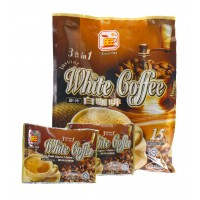 Bee Coffee 3 in 1 Instant White Coffee [15 Sachets x 2 Packs]