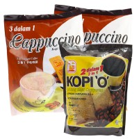 Bee Coffee Combo 5 [2 Pack Cappuccino Coffee + 1 Pack 2-in-1 Black Coffee]