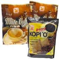 Bee Coffee Combo 7 [2 Pack White Coffee + 1 Pack 2-in-1 Black Coffee]