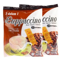 Bee Coffee 3 in 1 Instant Cappuccino [15 Sachets x 2 Packs]