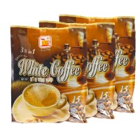 Bee Coffee 3 in 1 Instant White Coffee [15 Sachets x 3 Packs]