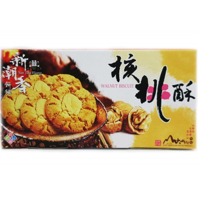 Sin Teo Hiang Walnut Biscuit [4 boxes]